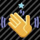 waving, hand, hands, and, gestures, hello, goodbye