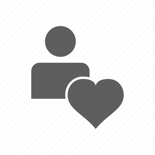 Volunteer, heart, man icon - Download on Iconfinder