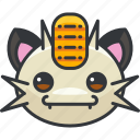 gaming, meowth, nintendo, pokemon icon