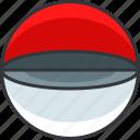gaming, open, pokeball, pokemon icon