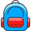 backpack, gaming, nintendo, pokemon icon