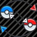 fight, gaming, nintendo, pokemon icon