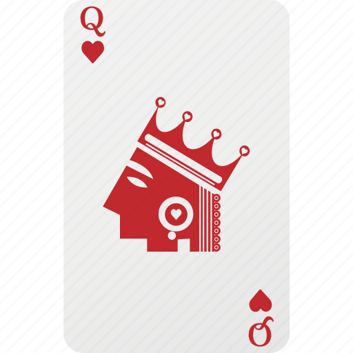 heart, queen icon
