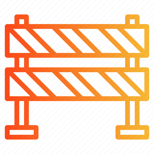Barrier, caution, obstacle, scurity icon - Download on Iconfinder