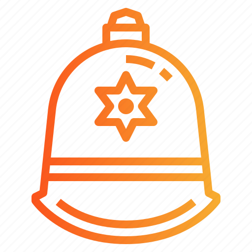 Helmet, police, protection icon - Download on Iconfinder