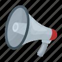 equipment, horn, loudspeaker, megaphone, negotiations, police, speaker