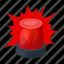 beacon, car, flash, flasher, flashlight, police, signal icon