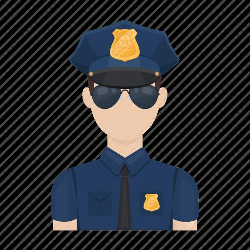 Man, officer, order, policeman, profession, uniform icon - Download on Iconfinder