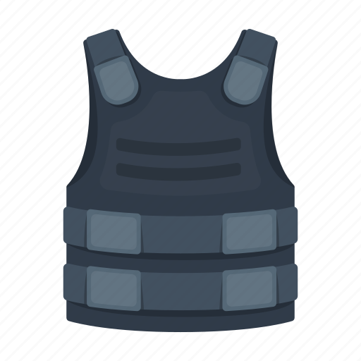 Body armor, clothing, plate, protection, steel, uniform icon - Download on Iconfinder