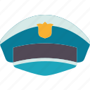 police, cap, officer, guard, agent