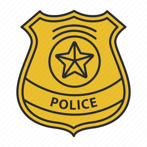 badge, cop, department, detective, officer, police, policeman icon