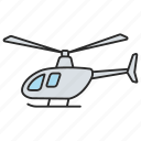 aircraft, aviation, copter, helicopter, military, plane, vehicle icon
