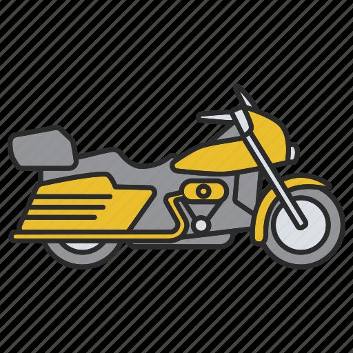 bike, biker, motor, motorbike, motorcycle, transport, vehicle icon