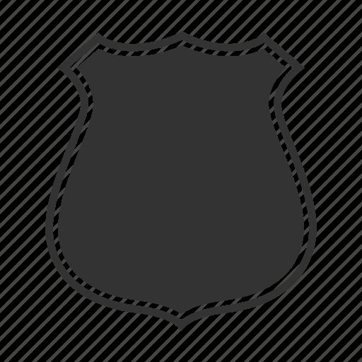 badge, department, emblem, firefighter, label, police, policeman icon
