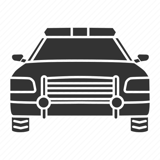 automobile, car, officer, police, policeman, sheriff, vehicle icon