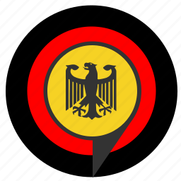 aim, bundestag, eagle, pointer, politics, target icon