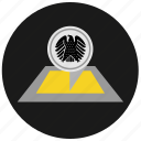 bundestag, eagle, germany, map, organization, political, round icon