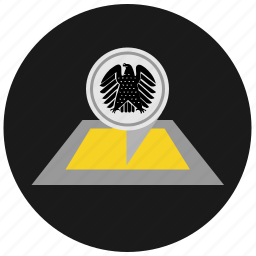 bundestag, eagle, germany, map, organization, political, round icon