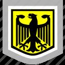 bundestag, eagle, germany, shield