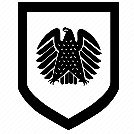 bundestag, force, germany, politics, shield icon