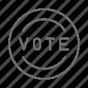 vote, election, voting, politics