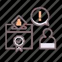 box, vote, whip icon
