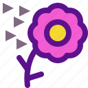 air, ecology, flower, green icon
