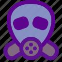 ecology, green, mask icon