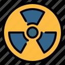 ecology, nuclear, pollution, radiation, radioactive, radioactivity, sign icon