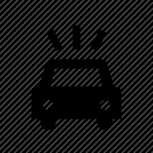 auto, car, honk, horn, noise, noise pollution icon