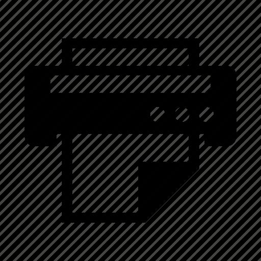 Paper, print, printer icon - Download on Iconfinder