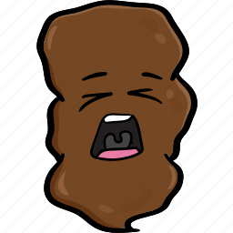 cartoon, emoji, poo, pooh, poop, smiley icon