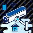 camera, cctv, footage, live, record, recording icon