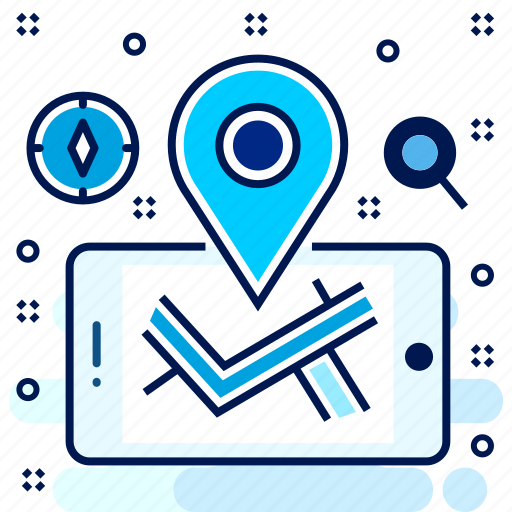 gps, locate, location, navigation, technology, us icon
