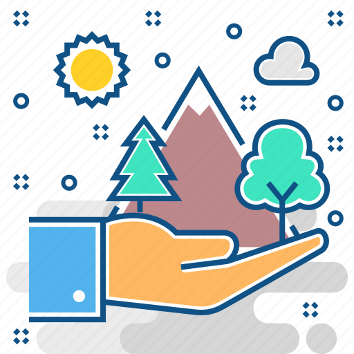 Forest, preservation, protection, plant, tree, trees icon - Download on Iconfinder