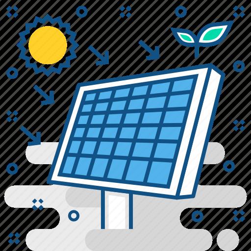 power, solar, sun, system icon