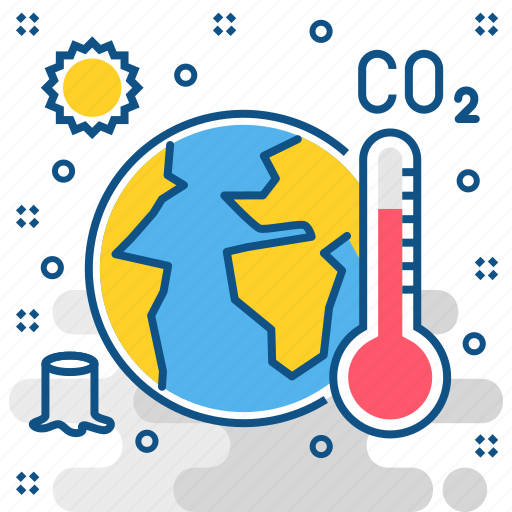 Global, warming, danger, environment, summer, temprature, weather icon - Download on Iconfinder