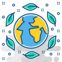 eco friendly, ecology, nature, non, plant, pollution, tree icon