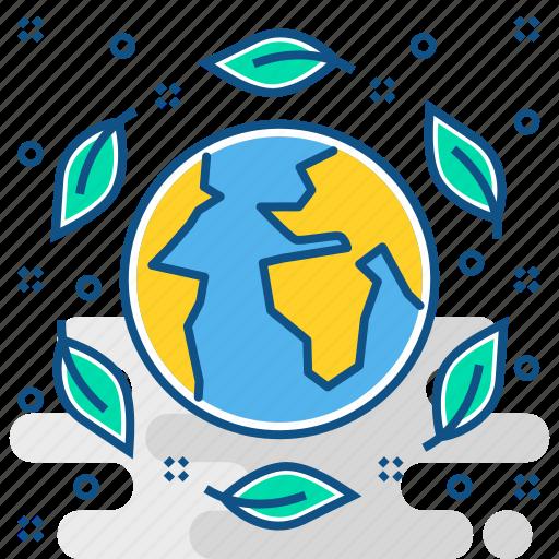 eco friendly, ecology, nature, non, plant, pollution, tree icon