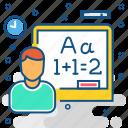 class, maths icon