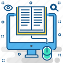education, elearning, internet, learning, network, online, study icon