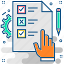 checklist, grid, items, list, to do list icon