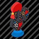 acrylic, bird, isometric, logo, object, toy, whistle
