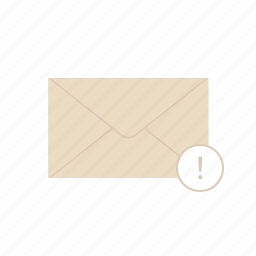 alert, e-mail, envelope, mail, notification, post icon