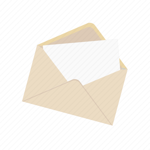 communication, e-mail, envelope, inbox, letter, open, post icon