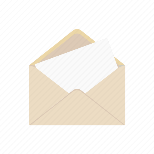e-mail, envelope, letter, open, post, read icon