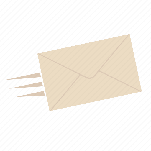 e-mail, envelope, mail, post it, send, send a message, send it icon