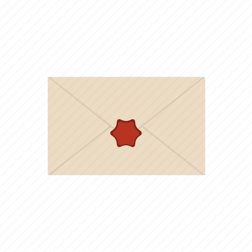 communication, e-mail, envelope, mail, post, secrete, stamp icon