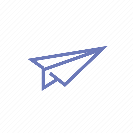 delivery, first class, mail, plane, send icon