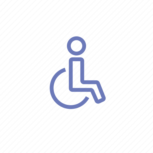 disabled, special, special features, wheel-chair icon